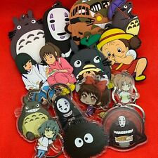 Studio Ghibli Large Keyring Key Ring Chain Totoro Catbus No Face Mei - BRAND NEW