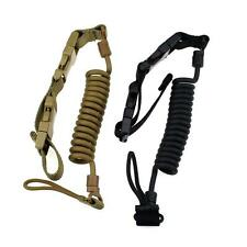Tactical Pistol Lanyard Heavy Duty Airsoft Quick Release Secure Pistol Sling Ops