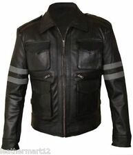 ADARGA Leather Vintage look Designer Jacket Biker Racer Blazer Men's Wolverine