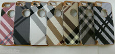 New Hard Plastic Check Pattern Design Protection Cover Case for iPhone 5 5S