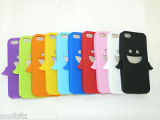 New Soft  Rubber Monster Design Case For iPhone 5 5S 5G - New