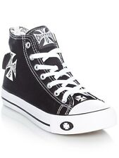 Zapatos West Coast Choppers Warrior Negro