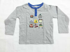 Branded Gray Round Neck  Printed T Shirt For Kids Boys-