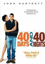 40 Days And 40 Nights   2002 Movie Posters Classic & Vintage Cinema