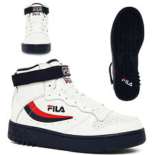 NEW AUTHENTIC MEN'S FILA FX-100 WHITE/DARK NAVY 1VB90150-125