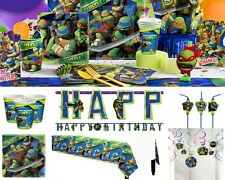 Teenage Mutant Ninja Turtles Birthday Party Supplies Tableware Plates Napkins