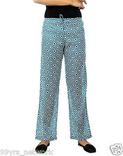 Aqva Windopane Casual 100% Cotton Voile Printed Women's Pant