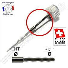 Rallonge Suisse Tige de remontoir de montre Dim de 0,5 à 1,4 mm - Stem extension