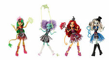 Monster High Freak du Chic Doll -Toralei Honey Swamp Jinafire Long Frankie Stein
