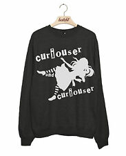 BATCH1 ALICE THROUGH THE LOOKING GLASS CURIOUSER WOMENS SWEATSHIRT JUMPER
