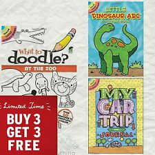 Buy 3 Get 3 (Add 6 to Cart) Little Dover Activity Books 60+ pages 18 Titles