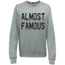 ALMOST FAMOUS WOMENS CELEBRITY FAME PRINTED SWEATSHIRT JUMPER