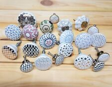 Vintage Drawer Pull Handles Door Cupboard Cabinet Knobs Silver Gold Colour ty