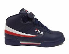 Fila Sports Men's F-13V Shoes Navy/White/Red 1VF059LX-46 a