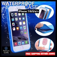 Waterproof Shockproof Hybrid Rubber Ultra Thin Cover Case iPhone 7 Plus 6s 5s SE