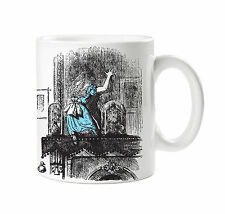 BATCH1 ALICE IN WONDERLAND ALICE GOES THROUGH THE LOOKING GLASS PRINTED MUG