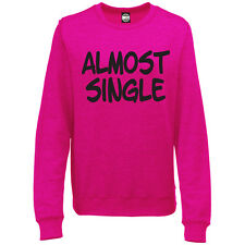 ALMOST SINGLE WOMENS PRINTED SWEATSHIRT JUMPER