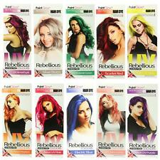 PaintGlow Semi Permanent Hair Dye Bright Colours 1 2 & 4 Pack & FREE Gloves