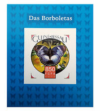 new Butterfly (Das Borboletas) 2015 Guine Bissau Stamps Deluxe Sheetlet ExGIFT!!