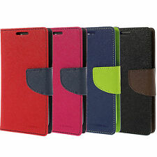Wallet Style Leather Flip Cover for Micromax Canvas Spark Q380 Mobiles