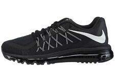 BRAND NEW! MENS NIKE AIR MAX 2015 Running Shoes 698902 001 Black/White MSRP