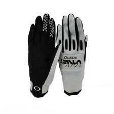 Oakley Mens Factory Pilot Cycling Glove White - Small