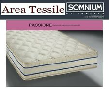 MATERASSO A MOLLE INDIPENDENTI PASSIONE, SOMNIUM BY IMAFLEX,MADE IN ITALY
