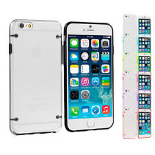 For Apple iPhone 6 Plus 5.5 Hybrid Clear Hard TPU Shockproof Skin Case Cover