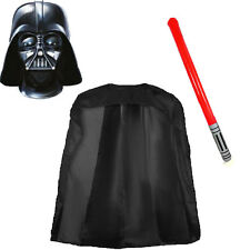 Cosplay Déguisement Star Wars Darth Vader 2D Masque Cape Sabre laser Gonflable