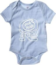 Body neonato T0056 GEEK INSIDE fun cool geek
