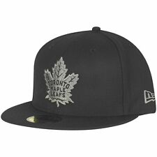 New Era 59Fifty Fitted Cap - NHL Toronto Maple Leafs schwarz