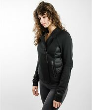 NIKE TECH FLEECE AEROLOFT MOTO WOMEN'S JACKET # 683938 010 / SIZE XS , L , XL