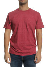 Levis T-Shirt Men SS SUNSET POCKET TEE 15798-0102 Rot