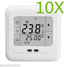 Touch Screen Thermostat Electric Digital Temperature Control Greenhouse Heater