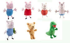 PEPPA PIG SUPERSOFT COLLECTABLE PLUSH - CLASSIC OR HOLIDAY STYLING NEW