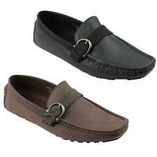 Mens New Smart Casual Penny Loafers Shoes UK Size 6 7 8 9 10 11 in Black Brown