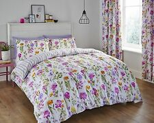 Catherine Lansfield Floral Meadow Multi Duvet Cover Bedding Set