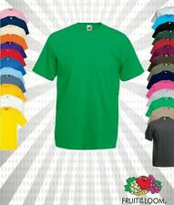 FRUIT OF THE LOOM T-SHIRT VALUEWEIGHT-S M L XL XXL XXXL 3XL Herren Shirt ANGEBOT