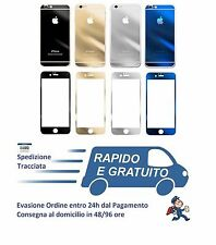 Pellicola in Vetro Temperato per iPhone 6S iPhone 6S Plus Fronte e Retro