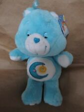 Care Bears Blue Bedtime Bear NWT 12 in Plush 2002 20th Anniversary
