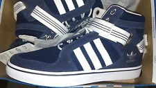 Adidas Originals ADI-RISE ALL-STAR EAST MID top blue canvas Basketball SHOE