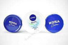 NIVEA CREME MOISTURISING CREAM HAND FACE BODY CARES FOR YOUR SKIN 50ML TO 200ML