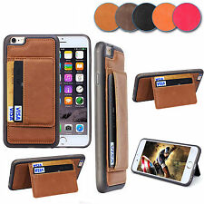 Luxury Ultra Slim Leather Wallet Card Stand Case Cover For Apple iPhon