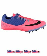 SCONTO Nike Zoom Rival S 8 Ladies Running Spikes Pink/Black