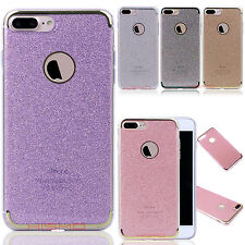 Luxury Bling Hybrid Rubber Ultra Thin Protective Case Cover For iPhone