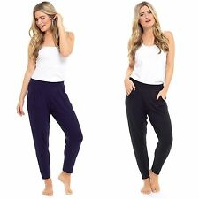 Women Full Length Jersey Harem Trousers Boho Ali Baba Baggy Leggings Pants