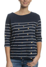 Superdry Raglan Tee Women CONVERSATIONAL BRETON TOP Stripe Star