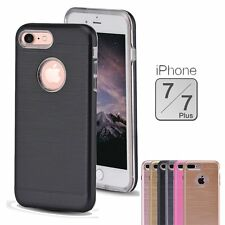 For Apple iPhone 7 / 7 Plus Slim Shockproof Hybrid Hard Bumper Soft Ru