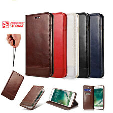 Luxury Magnetic Leather Flip Wallet Stand Case Cover For iPhone 6 6S P