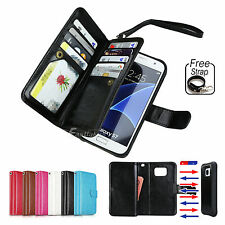 Magnetic Flip Leather Wallet Case Cover for Samsung Galaxy S7 Edge Not